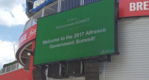 Welcome to the 2017 Alfresco Government Summit at Nats Park