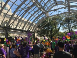 The 2017 Walk to end Alzheimer's Disease at the Reston Town Center