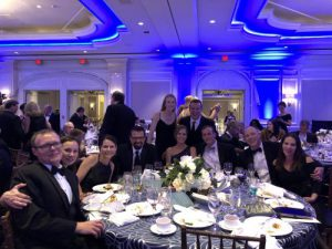 TeraThink all dressed up at the 2017 Lombardi Gala