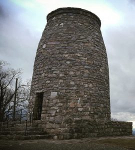 The original Washington Monument just off the Appalachian Trail in Maryland