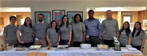 TeraThink team cooks at The Children's Inn at NIH
