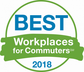Best Workplace for Commuters 2018 logo