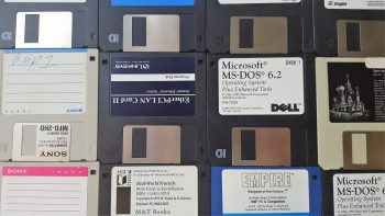Some 3.5 inch floppy disks from the 80s and 90s. Recognize any?