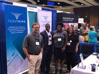 The TeraThink team at the 2018 AGA Professional Development Training Conference
