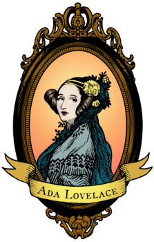 Portrait of Ada Lovelace, the writer of the 1st computer program